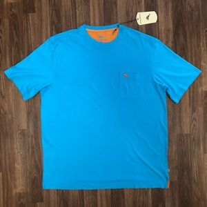 🌴 NWT Tommy Bahama Teal Pocket T-Shirt Men's L